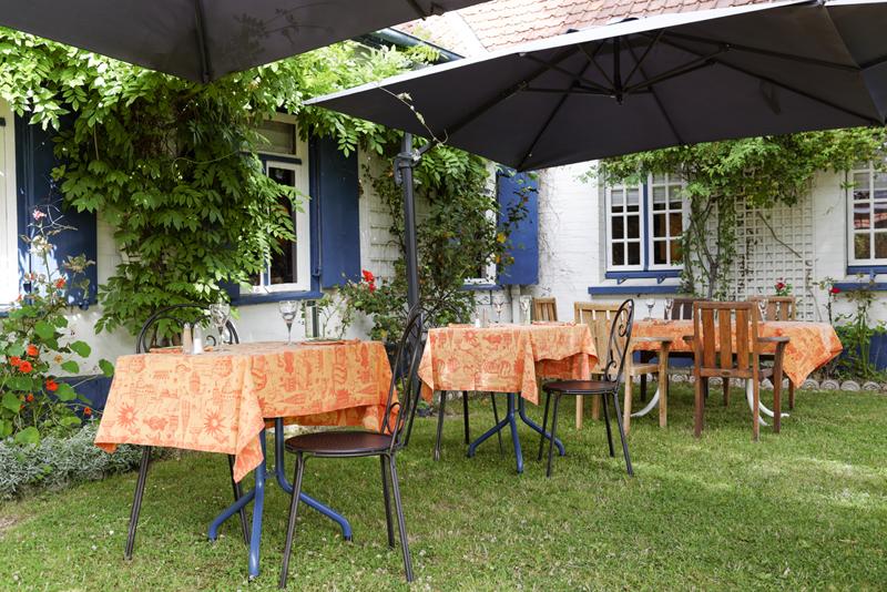La Petite Auberge terrasse